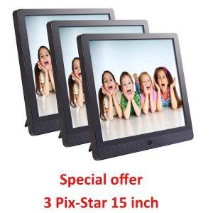 pix star 15 inch
