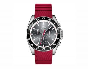 Lacost Red Westport Chronograph Watch