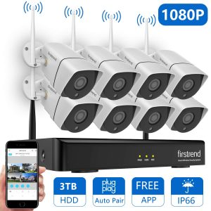 Best Outdoor Wireless Security Camera system with DVR-NVR